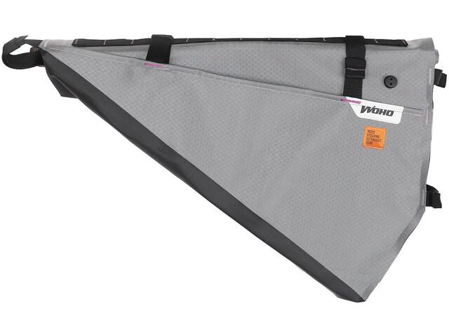 WOHO X-Touring Bolsa seca de cuadro L, gris